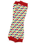 Boys Za Zoom Leg Warmers Newborn Infant & Baby Toddler Sizes Triangle Red Navy