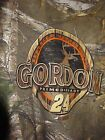 NASCAR JEFF GORDON 24 REALTREE CAMO PATTERN T SHIRT 2XL BRAND NEW WITH TAGS