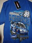 NASCAR JIMMIE JOHNSON 48 LOWES T SHIRT FRONT & BACK DESIGN BRAND NEW