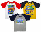 Boys Skylanders Giants It's Boom Time Cotton T-Shirt Top 3-8 Years NEW