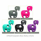 SILICONE Elephant TEETHING pendant necklace oral ASD CHEW TOY BABY jewellery
