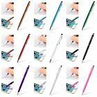 2 in 1 Capacitive Touch Screen Stylus Pen Ball Point Fuction For Phones Tablets