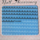 Nail Art Stickers Nail Art Water Decals Transfers Nail Art Lace Decoration