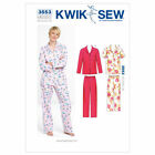 Kwik Sew 3553 Pyjamas Sewing Pattern K3553 Shorts  Long Trousers 2 in 1