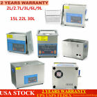 Ultrasonic Cleaner Bath Cleaning machine Heater Timer+Basket 3/6/9L Lab Industry