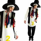 Mens 80s Pop Star Fancy Dress Costume PLUS Wig - 1980s Boy Icon Singer Outfit