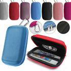 Durable Tough hard Fabric MP3 Player cover Clamshell Case, Earphone Case Holder