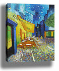 VAN GOGH CAFE AT NIGHT ART HIGH QUALITY CANVAS POSTER PRINT - CHOOSE SIZE/FRAME