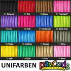 Paracord 550 TYPE III 4mm 5 Meter Basisfarben