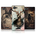 HEAD CASE DESIGNS POLY SKETCH HARD BACK CASE FOR SONY XPERIA E3 D2202