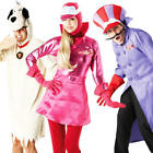 Deluxe Wacky Races Costumes Mens Womens Fancy Dress Cartoon Adult Costume Outfit
