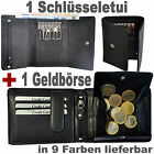 1 Wallet With Secret Compartment + 1 Key Case 2 Note and Coin Pocket
