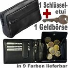 1 Purse With Viennese Case + Secret Compartment as Well 1 Large Key From Leather