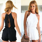 Sexy Women Ladies Clubwear Halter Playsuit Bodycon Party Casual Jumpsuit Romper