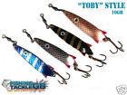"""TOBY"" STYLE LURES / SPINNERS - 10 gram"