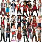PIRATE CAPTAIN BUCCANEER CARIBBEAN CUTTHROAT BOOK DAY KIDS FANCY DRESS COSTUME