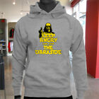 Calm Join the Dark Side Keep Angry Star Wars Chive Mens Gray Hoodie