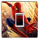 SPIDERMAN light switch sticker cover / skin decal. (Image 1)