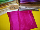 Cerise red Satin fabric costume curtain lining wedding decoration crepe fabric
