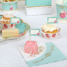 LUXURY PARTY PLATES Shabby Chic Vintage Style  Afternoon Tea or Birthday Party!