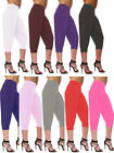 LADIES GIRLS WOMEN ALI BABA ***3/4***BAGGY TROUSER LEGGING HAREEM PANTS HAREM8-2