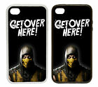 Scorpion 'Get Over Here' - Printed Rubber and Plastic Phone Cover Case Mortal