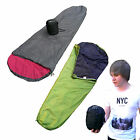 Sleeping Bag ultra-light weight 1.8 lb microfiber innerlining Trekking Hiking