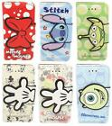 Disney Cartoon Synthetic Leather Flip Stand Wallet Case Fr Samsung Galaxy Note 3