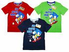Boys Sonic the Hedgehog I'm Outta Here Cotton T-Shirt Top 3 to 8 Years NEW