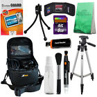 "50"" Tripod + Camera Case + 8GB SD Card for Point & Shoot Cameras + Acc Kit"