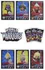 Topps World Of Warriors Trading Cards. Warrior Cards 61-119