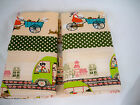 Kids spring car cotton fabric curtain purse bag Upholstery printed canvas fabric