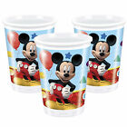 Disney Mickey Mouse Boys Girls Birthday Party Cups 8, 16 & More!