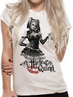 Batman ARKHAM KNIGHT HARLEY QUINN OFFICIAL cotton video game Womens T-SHIRT cool