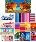 New LARGE Cotton Beach Towel Gym Holiday Travel Camping Towel Sports Lightweight