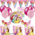 Disney Princess  Girls Deluxe Birthday Party Kits Plates, Cups  8-40 guests!