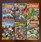 Doc Savage #1,2,4,5,6 Giant Sz#1 Bronze NO RESERVE See all silver marvel&DC LOTS