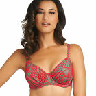 NEW Fantasie Swimwear Durban Full Cup Bikini Top Red 5796 VARIOUS SIZES