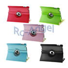 5 Colors 360 Rotating Magnetic PU Leather Case Smart Cover for iPad 2/3/4
