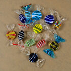 12pcs Vintage Colorful Glass Sweets Wedding Party Candy Christmas Decor Gift