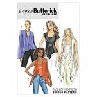 Butterick 4989 Fast Easy Top Camisole T shirt 2 hour Sewing Pattern B4989 5 in 1