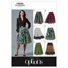 Vogue 8259 Easy to Make Options Petite Flared Skirt Sewing Pattern 8259 6 in 1!
