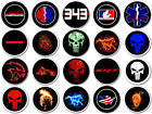CHOOSE A FIREFIGHTER EMS EMT MEDIC RESCUE- LOGO PUDDLE LIGHTS FOR CYCLES or AUTO
