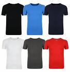 Esprit New Men's Short Sleeve Crew Neck Stretchy Ribbed Henley T-Shirts Tee Top