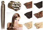 For A Full Head Grade7A Clip In Indian Remy Human Hair Extensions28''150Gram/Set