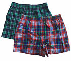 Mossimo Supply Co. Men's Plaid Boxers Comfortable Underwear w/Elastic Waistband