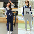 Внешний вид - Maternity Dungarees Overalls Pants Trousers Little Horse Cute Comfy M/L/XL