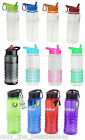 Flip Straw Tritan Drinks Sport Hydration Water Bottle Cycling Hiking BPA FREE