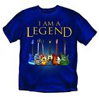 I am a Legend - Guitars - T-Shirt - Adult Sizes