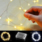 30/40/50/100 Battery LED String Fairy Lights Indoor/Outdoor Xmas Christmas Party